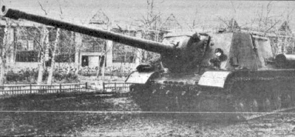 Object 251 (ISU-122-3) with the 122 mm S-26-1.