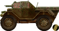 Pz.Sp.Wg. Lince, Wehrmacht, Northern Italy, 1944