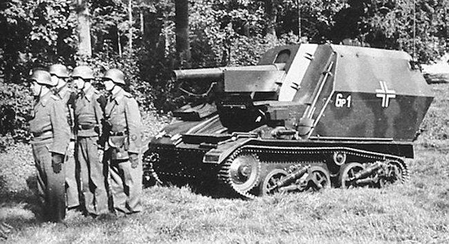 10.5cm LeFH 16 auf Geschutzwagen Mk.VI(e) SPG