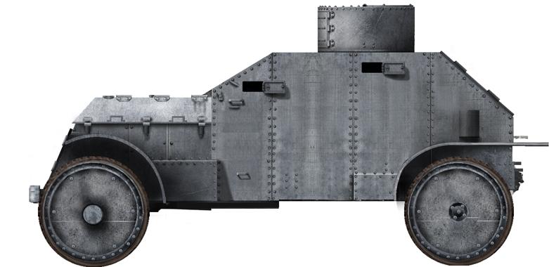 White 4×2 model 1917