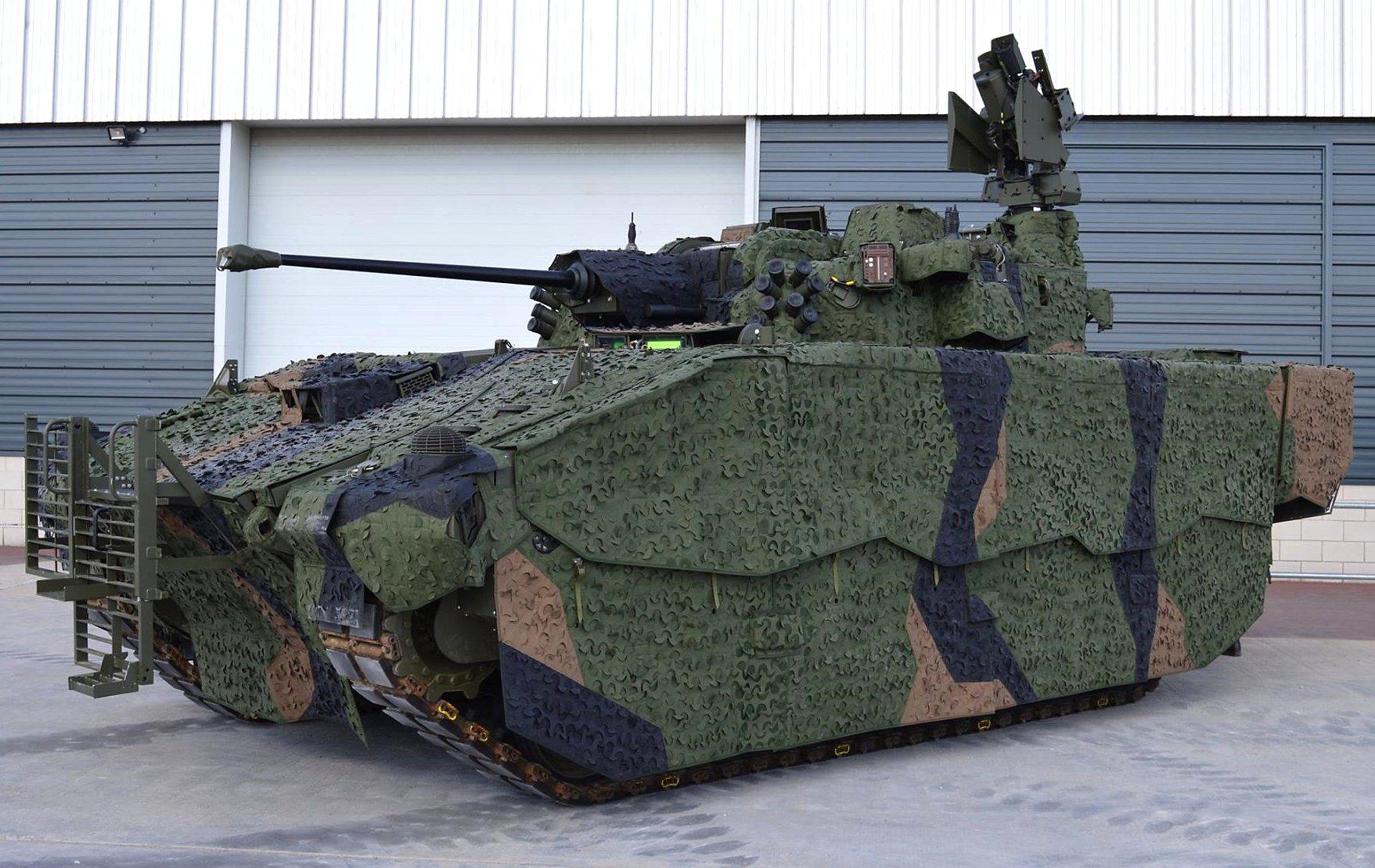 Ajax British Tank