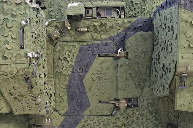 Ajax tank rear hatch