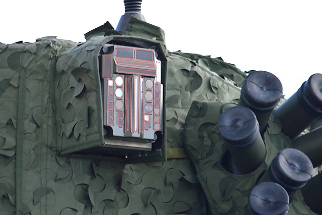 Ajax tank smoke discharges and sensors