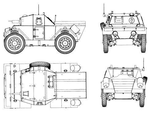 Blueprint of the Lancia Lince - Credits: the-blueprints.com