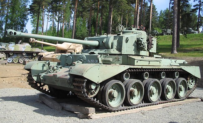 Finnish Army Comet PS.252-38 at the Finnish Armour Museum in Parola, Finland