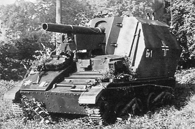 10.5cm LeFH 16 auf Geschutzwagen Mk.VI(e)