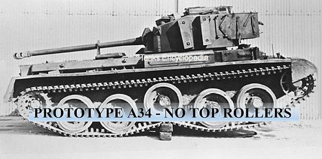 Prototype A34 Comet Tank