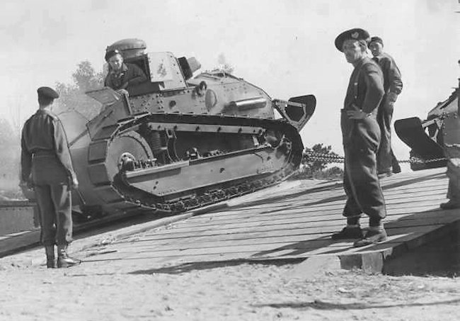 Canadian M1917 light tanks