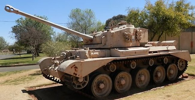 South African Army Tank Museum Comet in Bloemfontein, SA