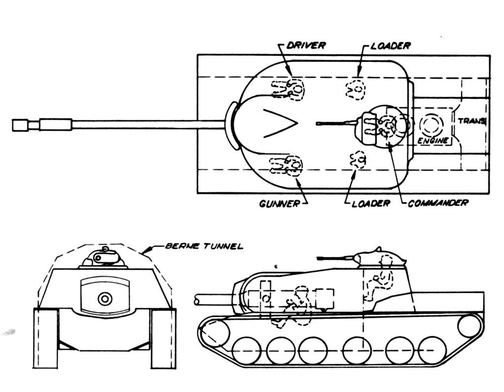 The fifth T110 design -Chrysler