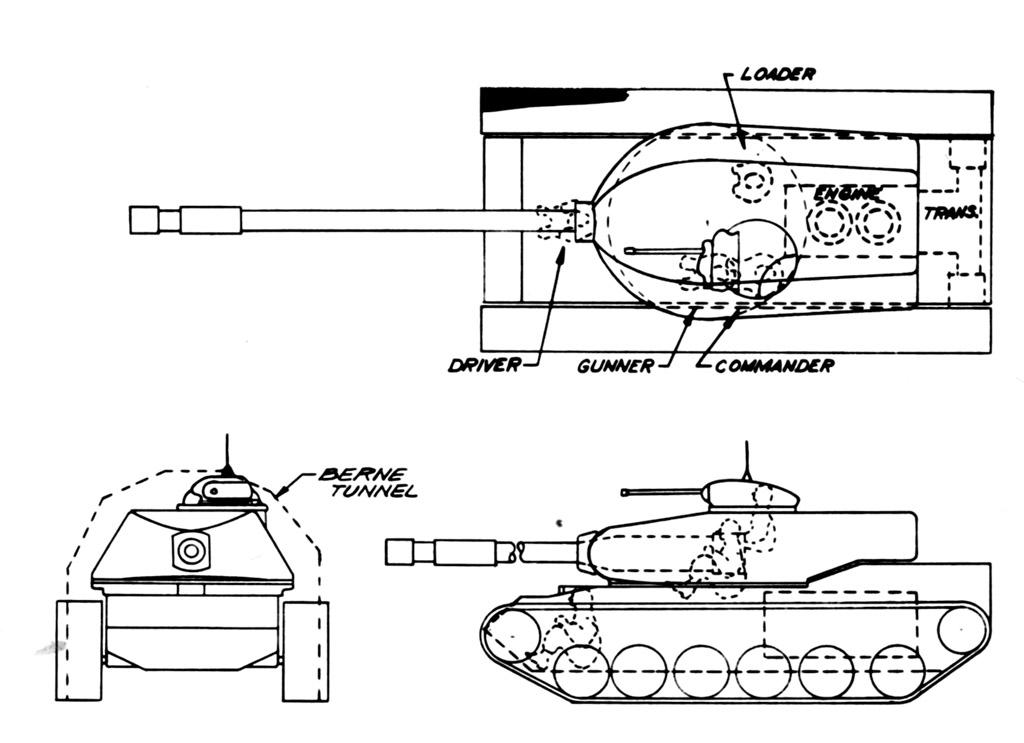 The sixth T110 design -Chrysler