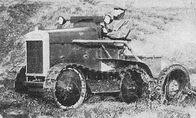 Morris Martel tractor