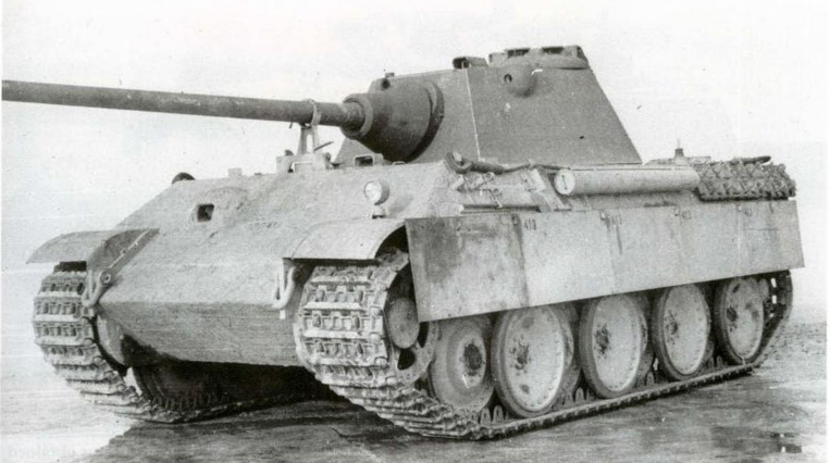panther g later turret
