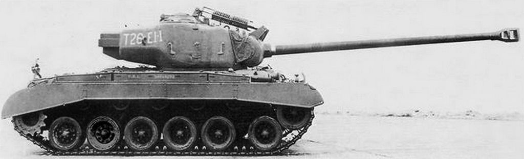 This T26E4 prototype was based on a T26E1 vehicle.