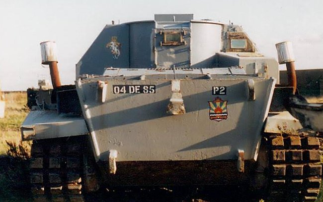Artillery observation vehicle centurion FV3805