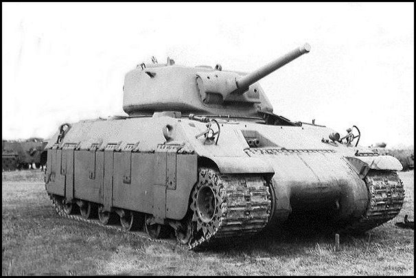 One of the T14 prototypes. Note the extreme angle of the frontal armor.