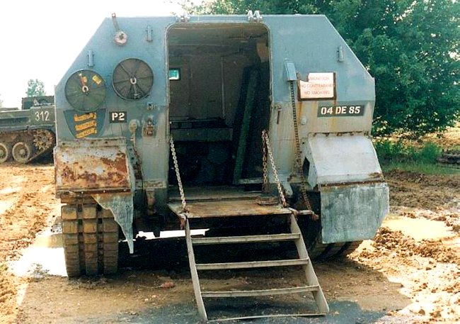 Centurion FV3805 rear hatch