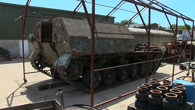 FV3805 awaiting restoration