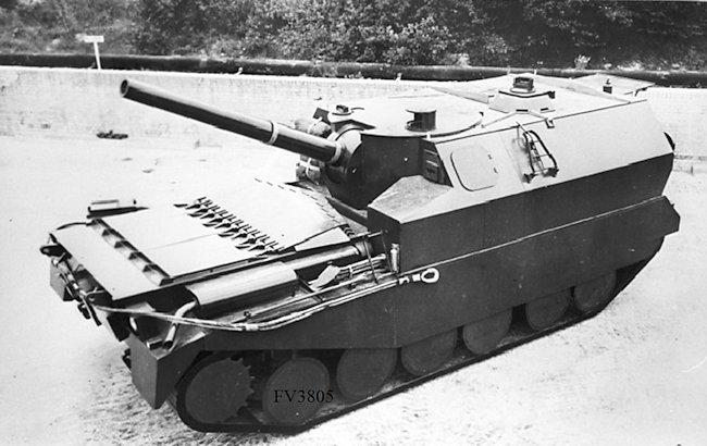 Centurion FV3805 artillery SPG