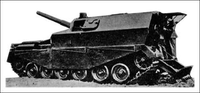 The only photo of the Centurion FV3802 SPG to show the top/rear hatch intact and open