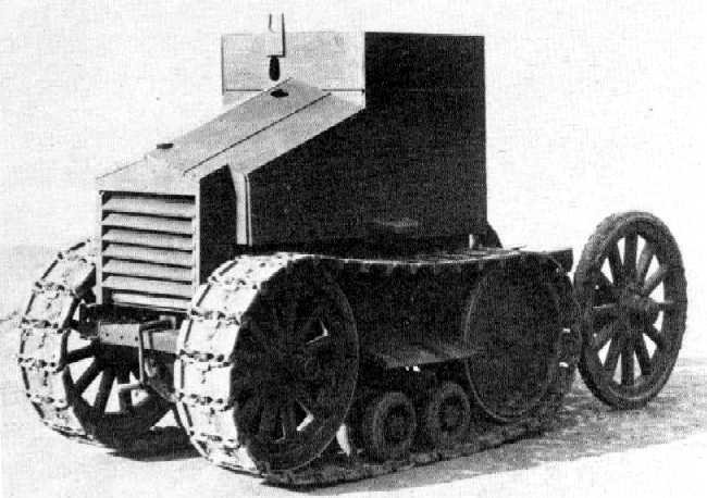The Morris-Martel One-Man Tankette