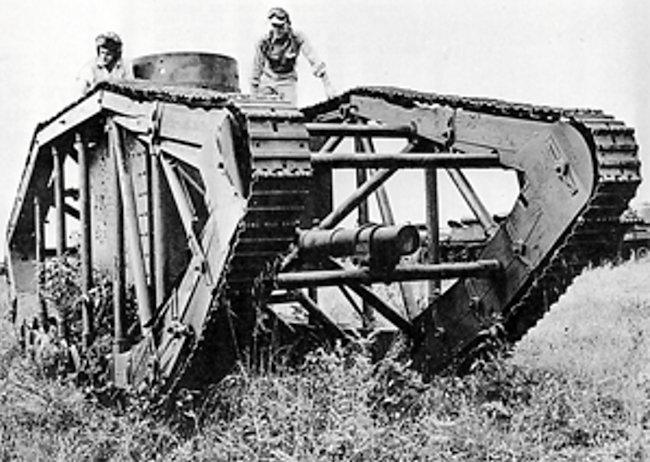 US Pioneer Tractor Skeleton Tank 1953