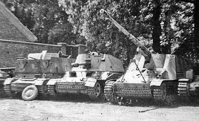 Alkett prototype 10.5cm leFH 18/40/2 L/28 (Sf) auf Geschüetzwagen III/IV artillery SPG