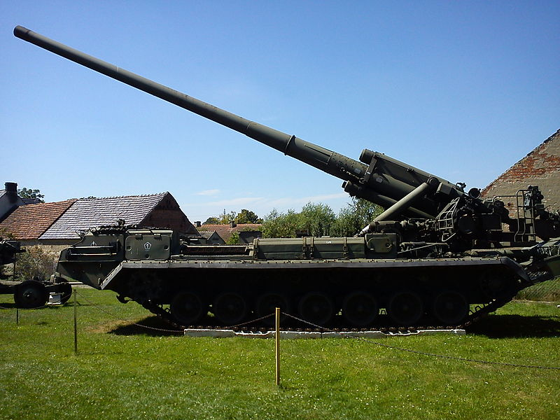 2S7_Pion_SPG_at_Lubuskie_Military_Museum_Drzonow_Poland