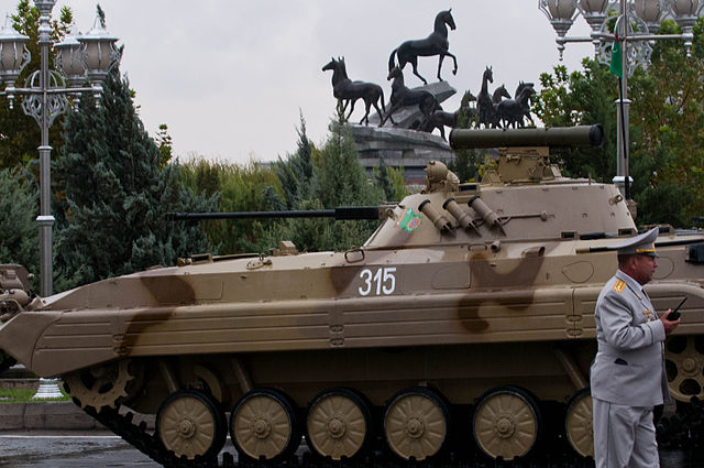 BMP-2, 20th Independence day of Turkmenistan