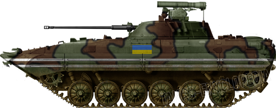 Ukrainian BMP-2 in 2014