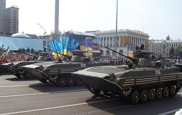 BMP-2 Kiev parade, Ukraine