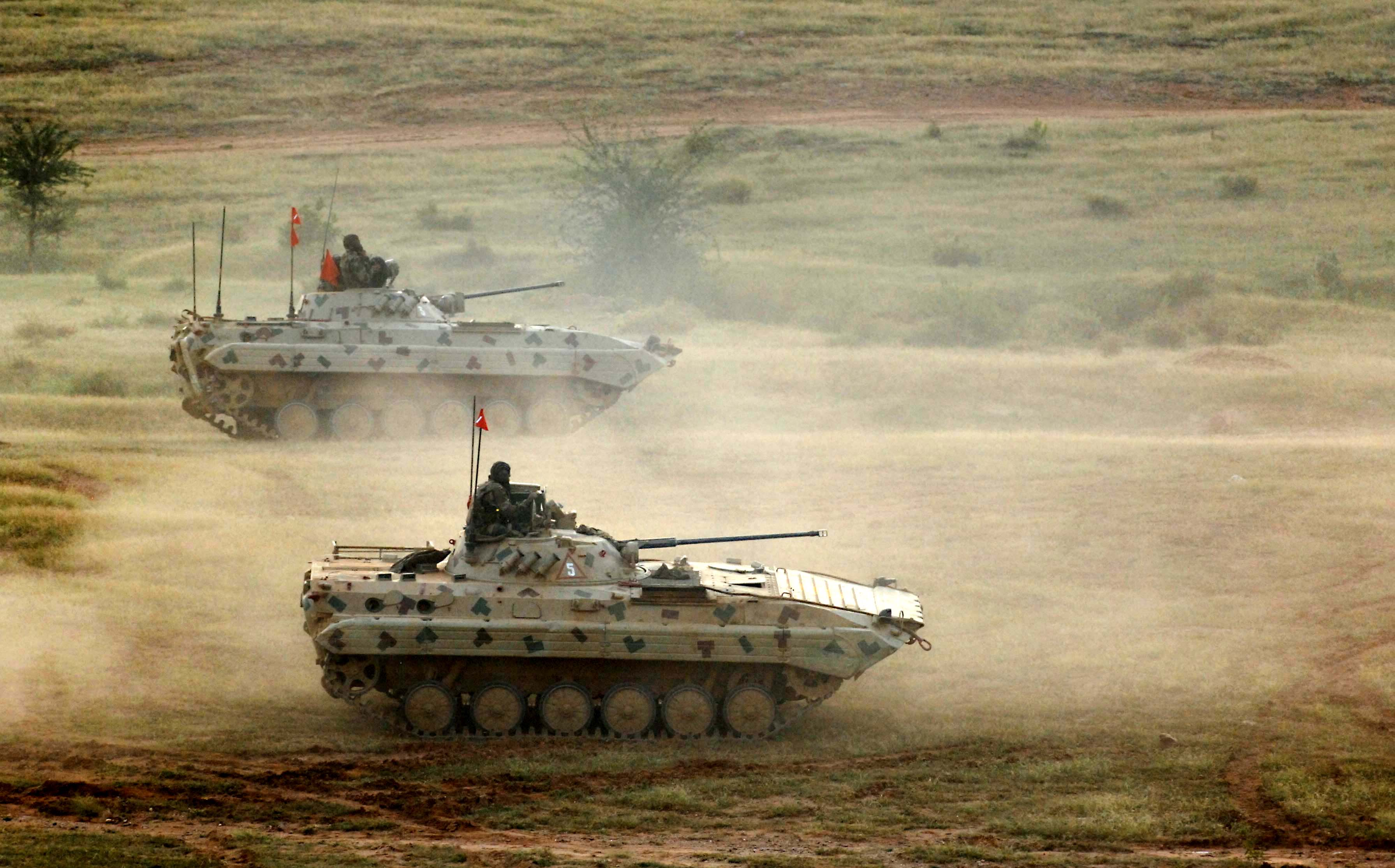 BMP-2 Sarath in exercizes