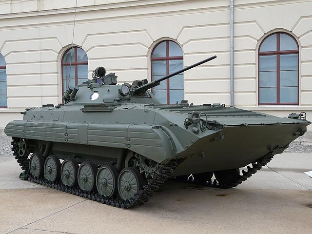 Czech-built East German BMP-2