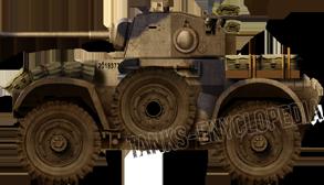 Daimler AC Mark I in 1942