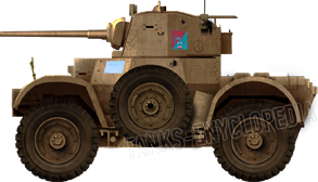 Daimler Mk.II of the Qatari Army today.