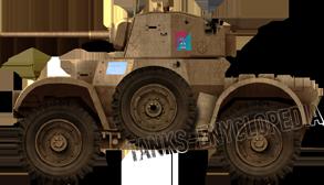 Daimler Mk.II of the Qatari Army today.