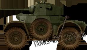 Daimler Mark II, RA 11th Hussars, 7th Armoured Division, Berlin, 1945