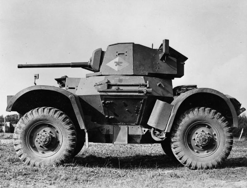 Side view of a Daimler Mk.II