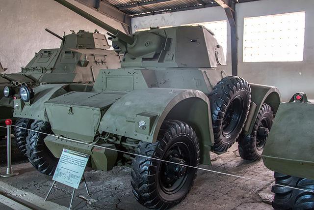 A Daimler Mk.II at the Kubinka Tank Museum