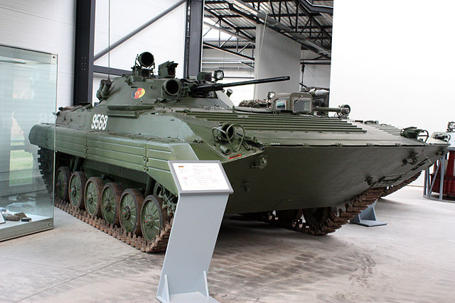 East German BMP-2, Panzermuseum Munster