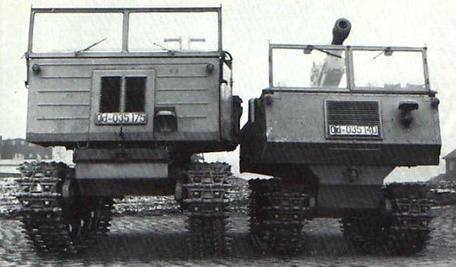 Gebirgsraupenschlepper (RSG) mit 7.5 cm GebH 34