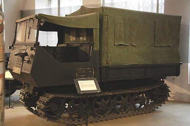 RSG - Gebirgsraupenschlepper – Caterpillar Tractor for Mountain Troops