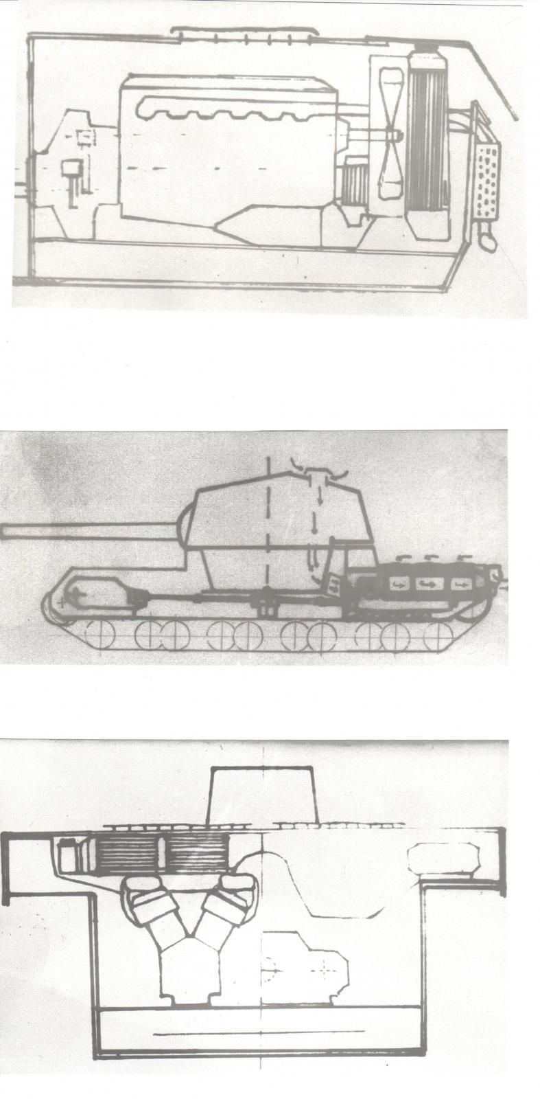 Grigoriev's drawings of the Type 2605