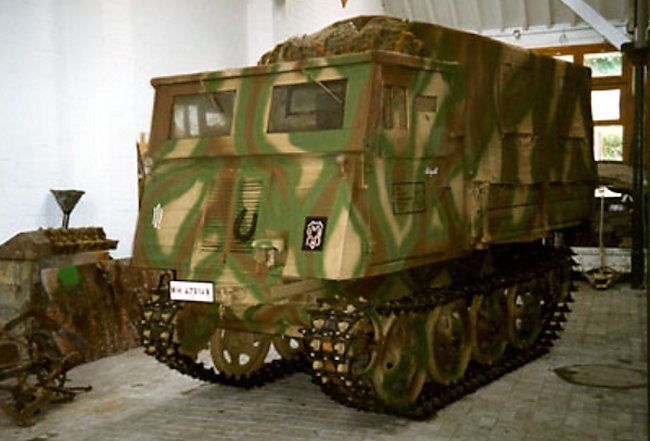 RSO Fully Tracked Artillery Prime Mover