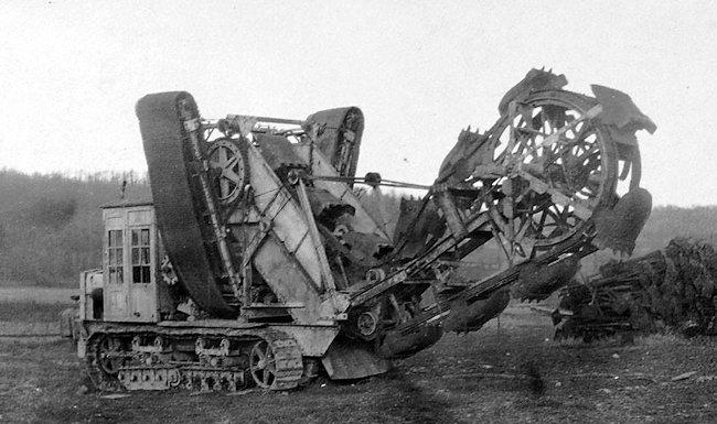 A7V-Schützengrabenbagger trench cutter