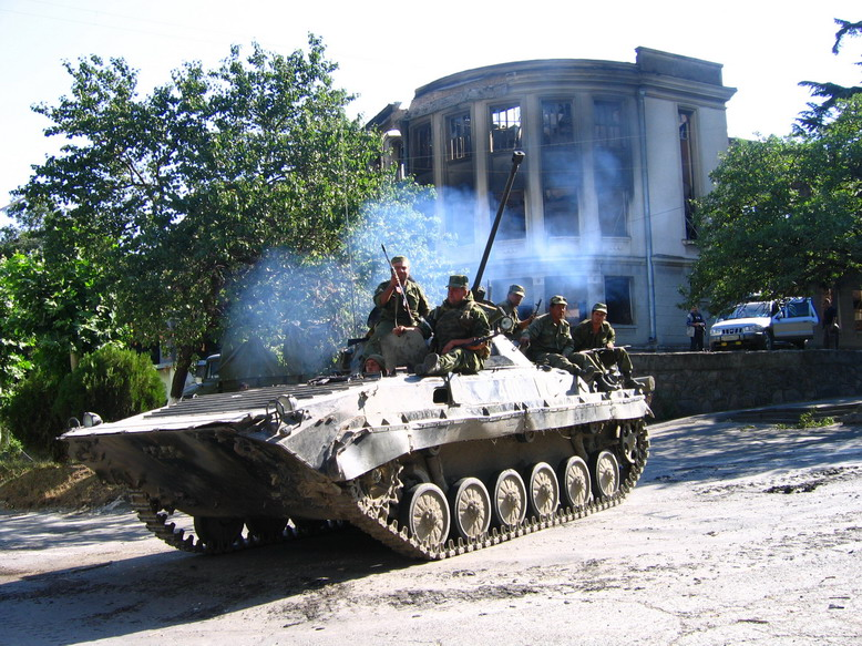 BMP-2, South Ossetia war