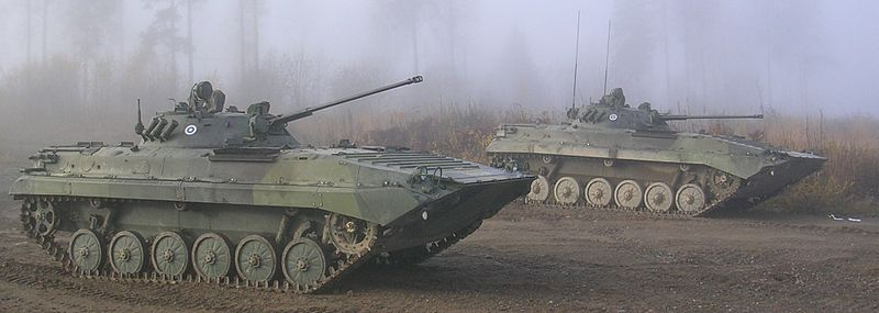 Two Finnish BMP-2