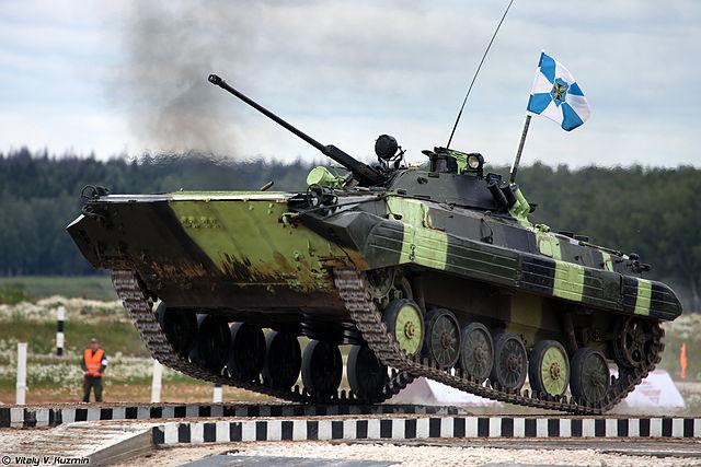 Ukrainian BMP-2 Tank Bihatlon, 2014