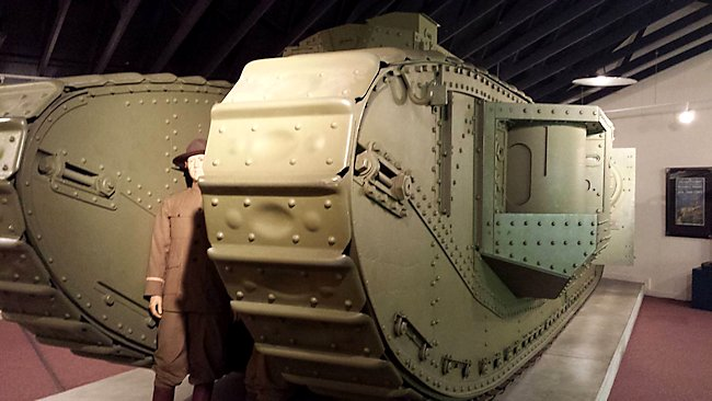 Mark VIII 'Liberty' Tank at Fort George G. Meade, MD, USA