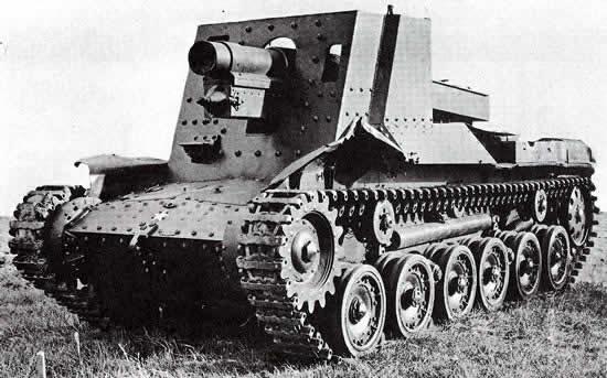 ho ro self propelled guns 02 - Another Japanese TD Proposal